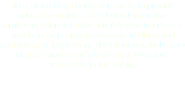 The Folded Flag Foundation exists to provide